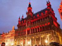 オランダ、ベルギー、ルクセンブルクにへ行ってみた(^◇^)4日目ブリュッセルへ、ゲントを軽く観光後グランプラスでイルミネーションを