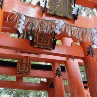 京都は伏見/下鴨あたりをぶらり+大阪:天神橋筋商店街で寿司堪能