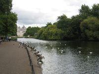 初秋のロンドンのセント・ジェームズ・パーク(2009年9月)