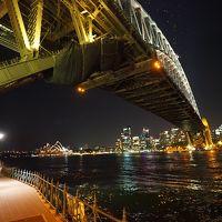 2017年末年始:北北西に一周してみる旅/ その4:シドニーでオペラハウスの夜景