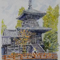 四国スケッチ・歩き遍路旅(徳島編)