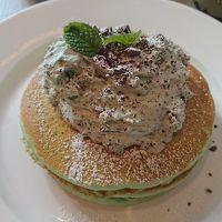 【横浜】チョコミントのパンケーキが食べたくて!