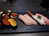 """ベガスの新しいもん2018年1月編その2""""Sapporo Revolving Sushi""""回転寿司が〜ついにベガスに来た〜!開店!"""