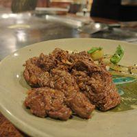 【沖縄旅行】名護でB級グルメ探し。ちふがおすすめの朝日レストランでオーストラリア牛のステーキも食べたよ。