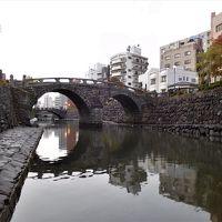 2017年 長崎1日目 その3 長崎市内散策 出島周辺、眼鏡橋、県立美術館周辺