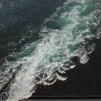 鳴門渦潮を見て大阪へ  (2) 渦の道
