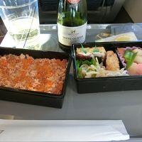 奥方様への誕生日プレゼントは金沢へ・・・?!!のはずだったのに・・・。 〜小松〜羽田・復路機内編〜