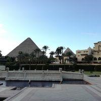2度目のドバイと初めてのカイロ・ギザの旅!その2〜エジプト航空B737-800エコノミークラスDXB/CAI〜☆エジプト・ギザ ピラミッド観光とホテルステイ【メナハウスホテル】2018年1月