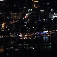 2017年11月長崎1日目 夜景見学ツアーバスで稲佐山の世界新三大夜景を見ました