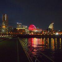 またまたお決まりのコースになっちゃってますが、私の好きな横浜の夜景・イルミネーションを楽しんできました