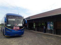 エアアジアで行くボルネオ島駆け足巡り 3日目:長距離バスで移動+国境越え多数。。。