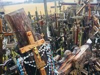 冬のバルト三国ひとり旅:シャウレイ 十字架の丘を独り占め
