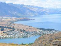 ニュージーランド テ・アナウからクィーンズタウン クィーンズタウンヒルハイキング