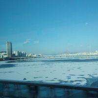 漢江が凍ってる! 極寒の2月にソウルへ。