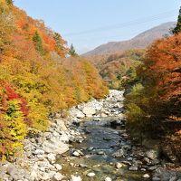 秋の新穂高温泉 槍見舘の絶景露天風呂とガッタンゴー