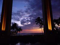 【祝還暦 part2】 直行便でハワイ島 10 (5日目 最後のサンセット)