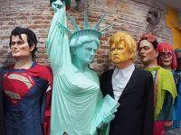 ブラジルの古都:【オリンダ人形カーニバル】のハリボテをレシフェで鑑賞できる博物館(レシフェ/ペルナンブコ州/ブラジル)