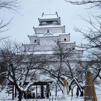 雪の鶴ヶ城などが見たくって会津若松などを巡ってきました