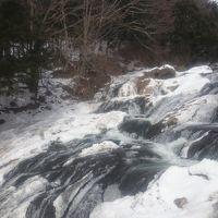 栃木県 奥日光で雪見露天風呂と素敵な夜 (6-6) 竜頭の滝と華厳滝