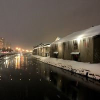 小樽雪あかりの路2018を見に1泊旅行