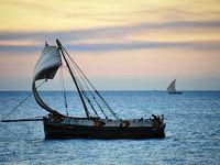アフリカ大人旅♪NO.5 ザンジバル島のサンドバンクに行ってみよ〜よっ