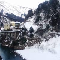 冬の宇奈月温泉を訪ねます!