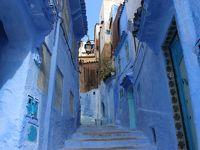 モロッコ� 青い町 シャウエン