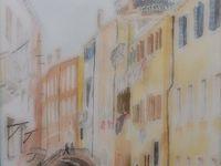 広ーい公園の一角 心惹かれる作品に触れました  ボルゲーゼ美術館(1) ローマ