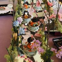 横浜山手西洋館の雛飾り 2018