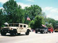アメリカ独立記念日パレードを観る