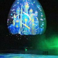 蒲郡-3 ラグナシアb 「アグア」ウォーターマッピングショー ☆有料観覧席が無料開放されて