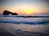 大好きフランスvol.15 Biarritz 洗練されたフレンチバスク 海にうつる夕陽