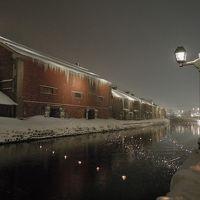 2018.1 北海道 −2日目/二条市場・小樽運河・小樽雪あかりの路−