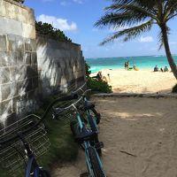5度目ハワイ2018家族記念旅3日目〜カイルアに来たらやっぱりサイクリングでしょ!