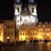 2018,2月 中欧巡りをしてきました。No5,シュテルンブルグ宮殿とロブコヴィッツ宮殿の美術館鑑賞とジョンレノンの壁とプラハ夜景