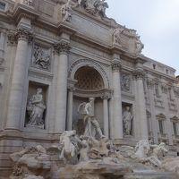 トレヴィの泉でコインを投げれば,ローマには何度でもこれる。何回来たかな。