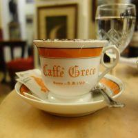 ピンチョの丘からスペイン階段へ。そして,カフェ・グレコでひとやすみ。