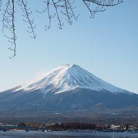 真冬の富士山を撮るプチ旅♪