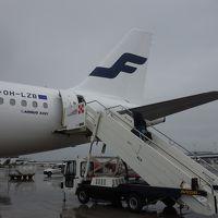 フィウミチーノ空港からA321に乗りました。ヘルシンキ行きフィンエアーAY1770便です。