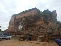 10月はタイ、ミャンマー、那覇へ マンダレー編(2)ミングォンまでボートで行く