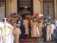 エチオピア12日間 �アディスアベバのティムカット祭