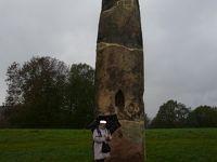 2010年ドイツの秋:�7mのGollensteinゴレンシュタイン、巨人が巨石を投げたのか?