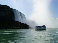 カナダ横断8日間 (5) 世界三大瀑布の一つナイヤガラの滝
