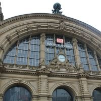 フランクフルト〜ブリュッセル・高速鉄道ICEで快適旅