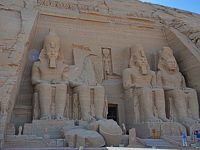 2018冬のエジプト旅行(7)−ナイル川クルーズ4日目其の2(アブシンベル神殿)−