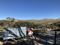 オーストラリア最高峰、マウントコジオスコ、メインレンジ周回コースウォーキング(22.4km)