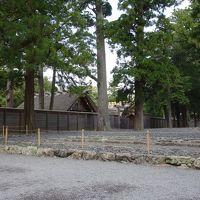 お伊勢参りは外宮から。名古屋から2時間で着きました。