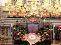 代班車(代理の遊覧車)で、南投草屯「台湾雷蔵寺」に遠征