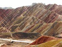 張掖丹霞地貌は本当に写真のようにすごい色彩の場所なのか自分の目で確認せねば!