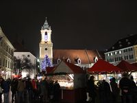 中欧4ヶ国クリスマスマーケット巡り6日間(5)〜ブラティスラヴァ